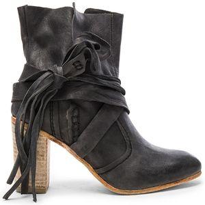 Free People Seven Wonders Heel Boot size 38